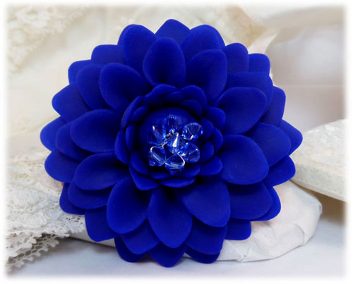 Blue Chrysanthemum Brooch Jewelry