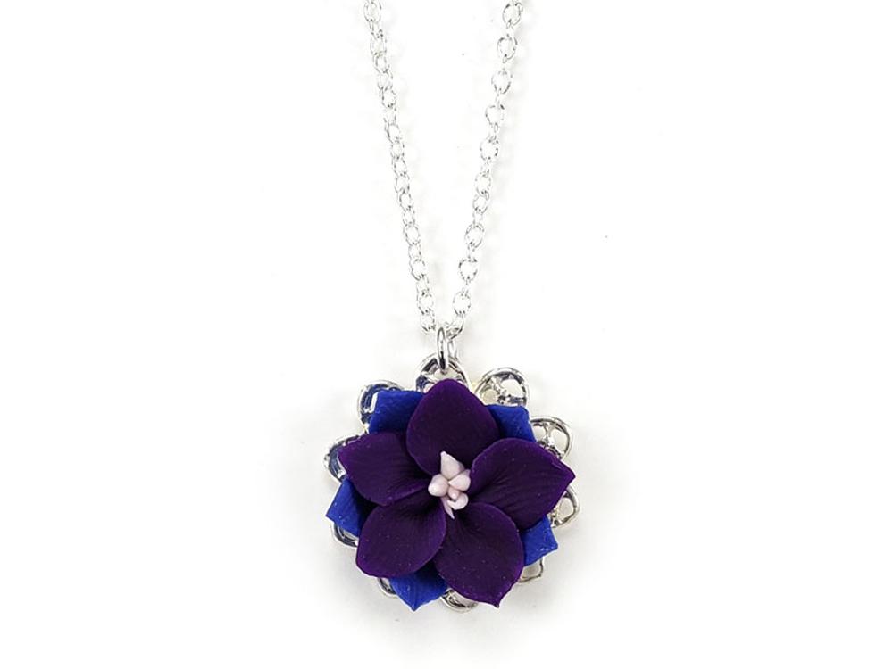 larkspur charm necklace larkspur jewelry stranded treasures