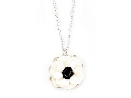 Anemone Charm Necklace