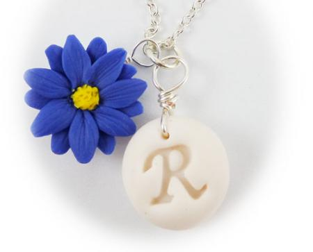 Aster Initial Necklace