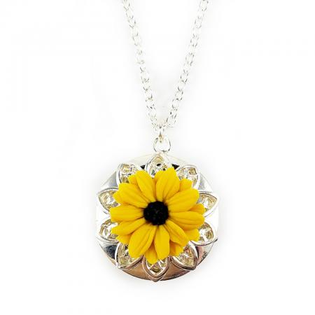 Black Eyed Susan Locket