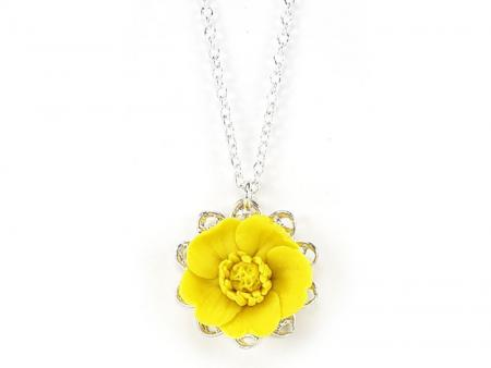 Buttercup Charm Necklace