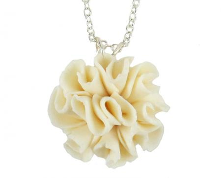 Carnation Pendant Necklace