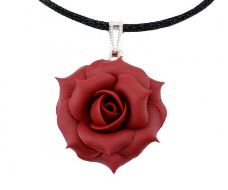 Classic Rose Choker Necklace