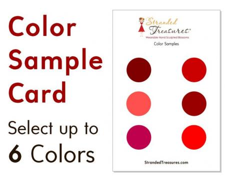 Color Sample Card