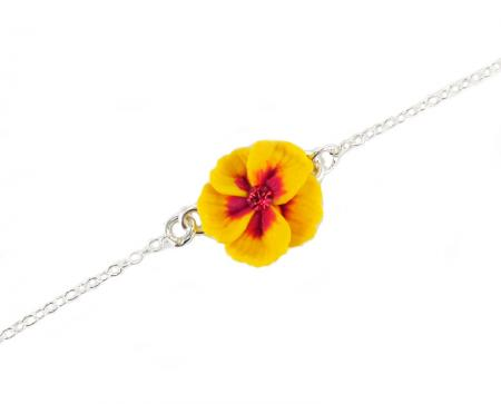 Hibiscus Anklet
