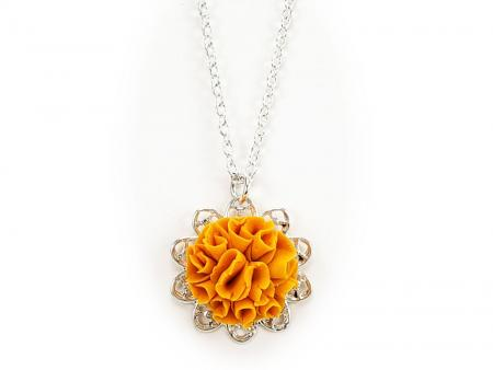 Marigold Charm Necklace