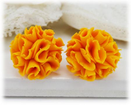 Marigold Stud Earrings