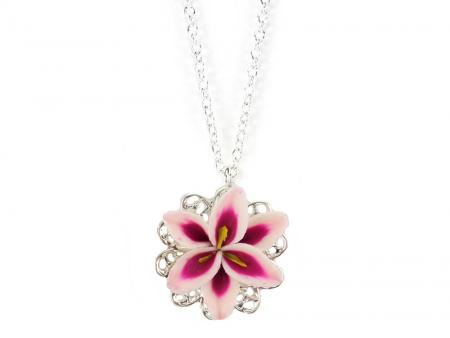 Lily Charm Necklace