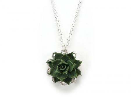 Succulent Charm Necklace