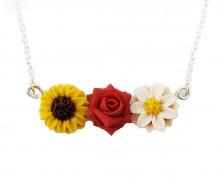 Garden Necklace - Daisy-Rose, Sunflower