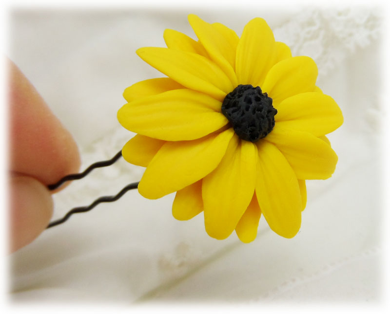 Black eyed susan hair flowers Black eyed susans