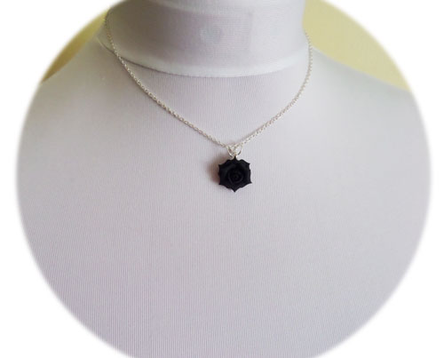 Black rose necklace stranded treasures black rose necklace aloadofball