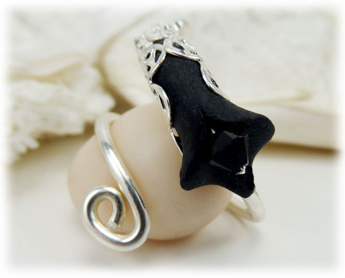 Calla Lily Ring Stranded Treasures