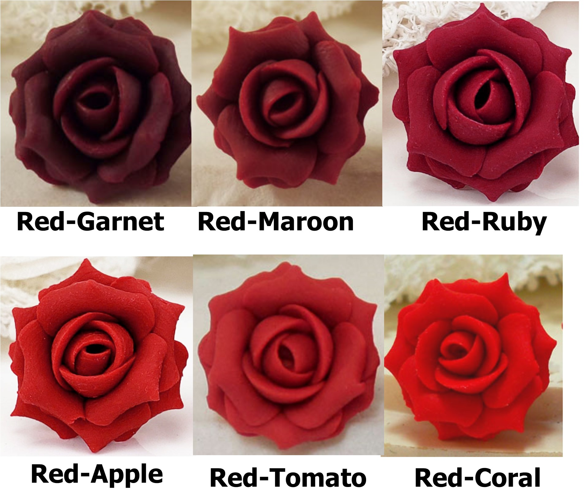 Large Red Rose Ring Stranded Treasures