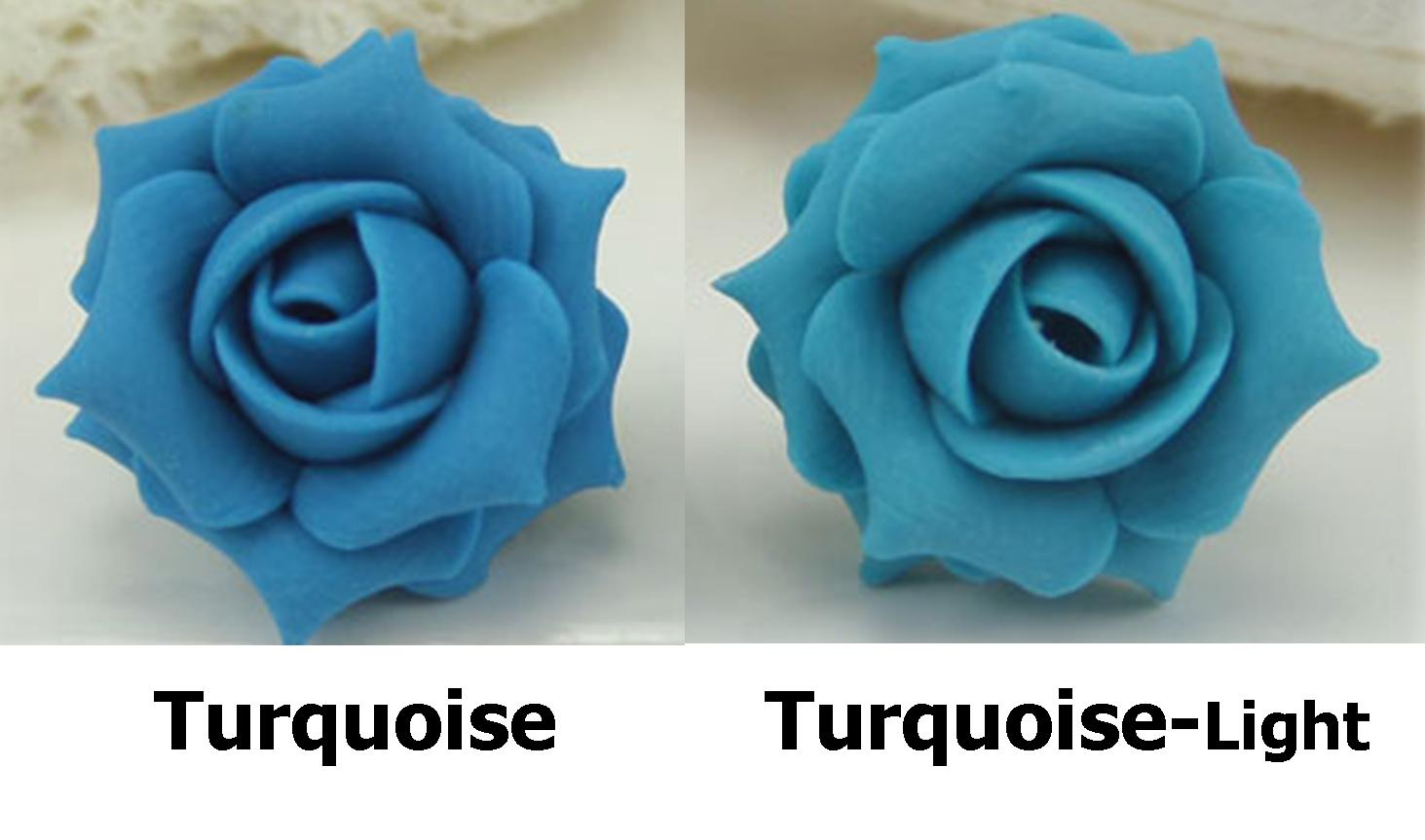 Large Turquoise Rose Ring Stranded Treasures