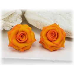 Feria Rose Stud Earrings
