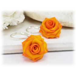 Feria Rose Drop Earrings