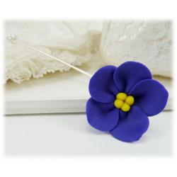 African Violet Stick Pin
