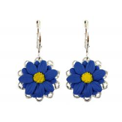 Aster Filigree Dangle Earrings