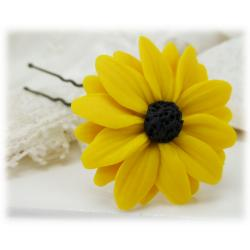 Black Eyed Susan Hair Pin