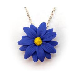 Blue Aster Necklace