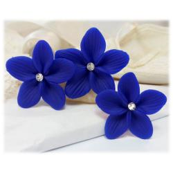 Blue Hair Flowers