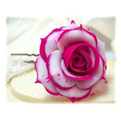 Blushing Rose Hair Pin