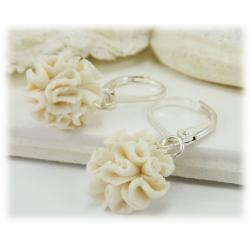 Carnation Drop Earrings