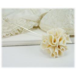 Carnation Stick Pin or Brooch Pin