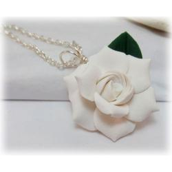 Gardenia Leaf Necklace