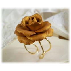 Gold Rose Ring