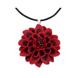 Large Dahlia Choker Necklace