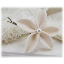 Large Jasmine Pearl Hair Pin