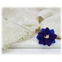 Purple Larkspur Stick Pin