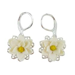 Magnolia Filigree Earrings