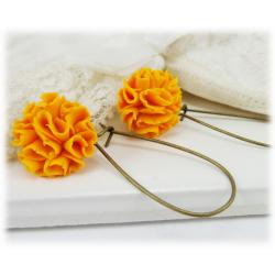 Marigold Drop Earrings