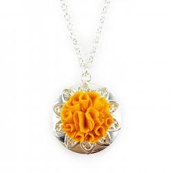 Marigold Locket Necklace