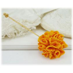 Marigold Stick Pin or Brooch Pin