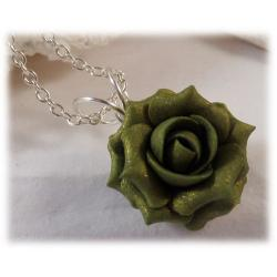 Olive Rose Necklace