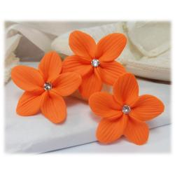 Orange Hair Flowers