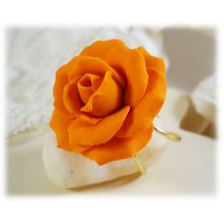 Orange Rose Rings
