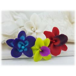 Orchid Hair Pin