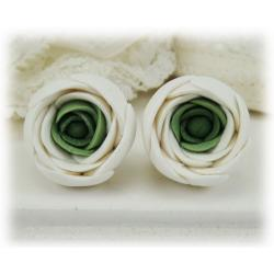 Ranunculus Stud Earrings