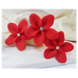 Red Hair Flowers