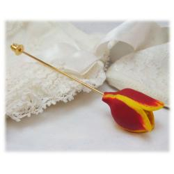 Red Tulip-Stick-Pin