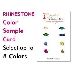 Rhinestone Color Sample Card