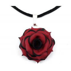 Gothic Rose Choker Necklace