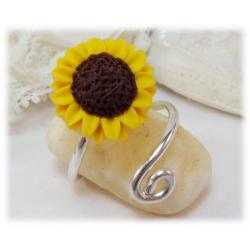 Small Sunflower Ring