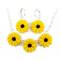 Black Eyed Susan Jewelry Set